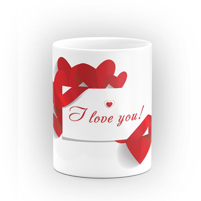 """Чаша """"I Love you!"""" - подарък за Свети Валентин"""