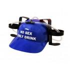 Каска за бира или безалкохолни напитки с надпис