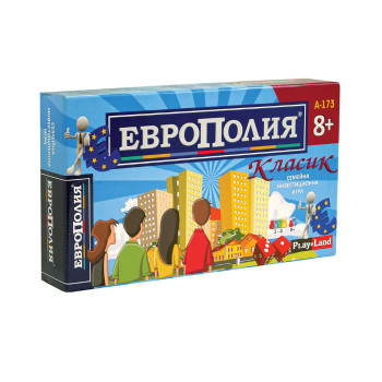"""""""Европолия Класик"""" голяма - икономическа семейна игра"""